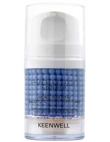Crema gel Hydro-renewing noche Evolution Sphere Keenwell