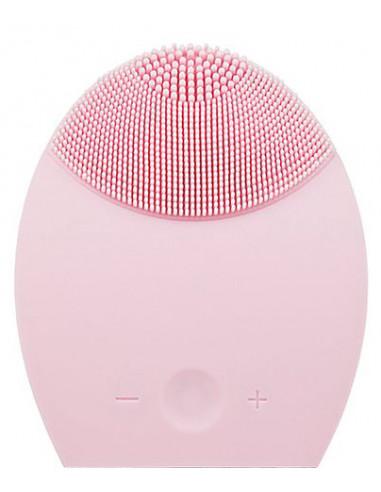 Cepillo limpiador masajeador facial silicona IDC