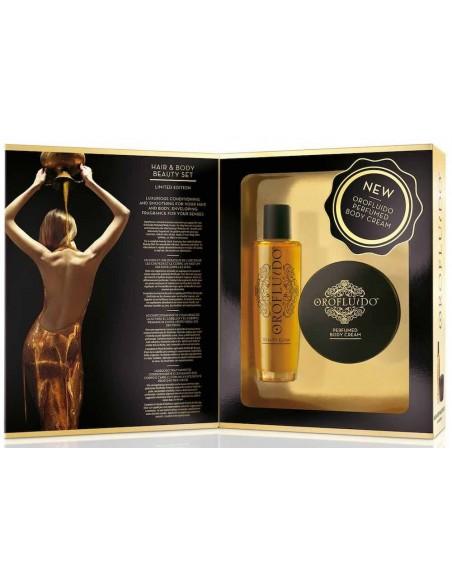 Oro Fluido pack Hair & Body Beauty Set