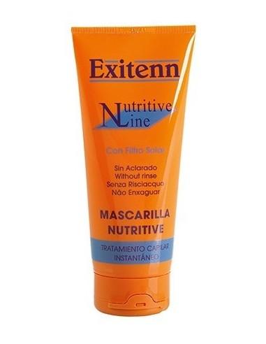 Mascarilla Nutritive sin aclarado con filtro UV Exitenn